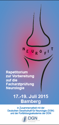 Deckblatt Flyer NeuroFIT 2015